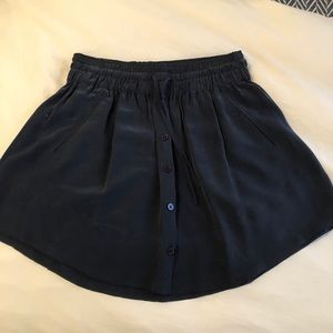 Joie Navy Mini Skirt
